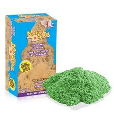 Nero Trade Kinetický / měsíční písek – náhradní sada 800g - zelená barva