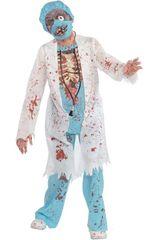 Kostium dziecięcy Doktor Zombie