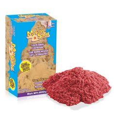 Nero Trade Kinetický / měsíční písek – náhradní sada 800g - červená barva