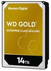 Western Digital GOLD 14 TB, SATA 6 Gb/s, 512 MB, 7200 tvrdi disk