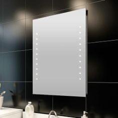 shumee Koupelnové zrcadlo s LED diodami nástěnné 50 x 60 cm (D x V)