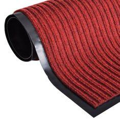 shumee Červená PVC rohožka 90 x 60 cm