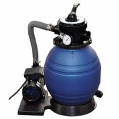 Piesková filtrácia s čerpadlom 400 W, 11000 l/h