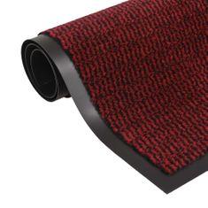 shumee négyszögletes szennyfogó szőnyeg 40 x 60 cm piros
