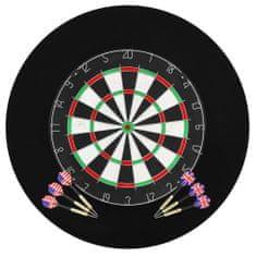 shumee szizál professzionális darts tábla 6 nyíllal és tábla védővel