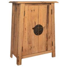 shumee Koupelnová odkládací skříňka recyklované borové dřevo 59x32x80