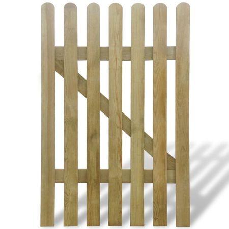Bramka ogrodowa, drewno, 100 x 150 cm