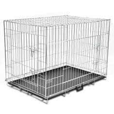 Składana metalowa klatka dla psa, XL