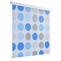 Sprchová roleta, 100x240 cm, kruhový vzor