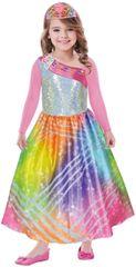 Barbie Dievčenský kostým Dúhová princezná