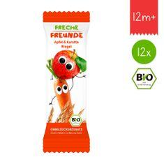 Freche Freunde BIO Ovocná tyčinka - Jablko a mrkev 12x23g