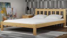 Importworld Dřevěná postel Bořivoj 160x200 + rošt ZDARMA - borovice