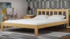Importworld Dřevěná postel Bořivoj 140x200 + rošt ZDARMA - borovice