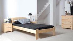 Importworld Dřevěná postel Monika 90x200 + rošt ZDARMA - borovice