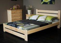 Importworld Dřevěná postel Roland 160x200 + rošt ZDARMA - Borovice