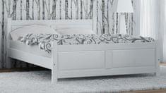 Importworld Dřevěná postel Kristýna 180x200 + rošt ZDARMA - borovice