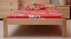 Importworld Dřevěná postel Antonín 90x200 + rošt ZDARMA - borovice