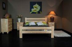 Importworld Dřevěná postel Luboš 120x200 + rošt ZDARMA - Borovice