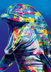 Blue Bird Puzzle 1000 dílků Dolphin
