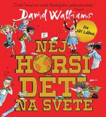 Walliams David: Nejhorší děti na světě - MP3-CD