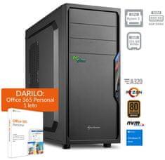 PCplus I-NET namizni računalnik (139663) + DARILO: 1 leto Office 365 Personal