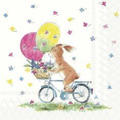 IHR Velikonoční jízda papírové ubrousky malé