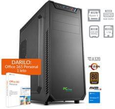 PCplus Magic namizni računalnik (139665) + DARILO: 1 leto Office 365 Personal