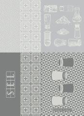 Garnier Thiebaut SALIERES Blanc Utěrka 56 x 77 cm