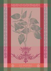 Garnier Thiebaut BRIN DE POIVRE Rose Utěrka 56 x 77 cm