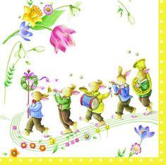 Villeroy & Boch Spring Fantasy Awakening Velikonoční papírové ubrousky, IHR