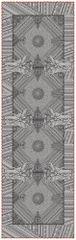 Garnier Thiebaut JODHPUR Noir Běhoun 54 x 180 cm