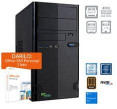 PCplus e-office namizni računalnik (139667) + DARILO: 1 leto Office 365 Personal