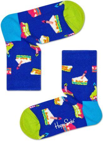 Happy Socks gyermek zokni Cake Sock, 24 - 26, kék