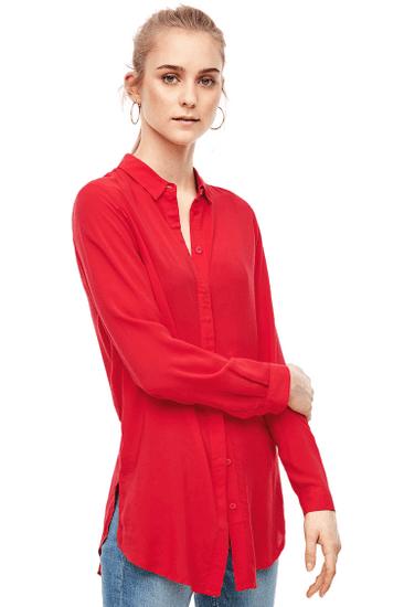 Q/S designed by dámska košeľa 41.002.11.8503, 42, červená