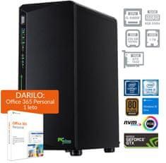 PCplus Gamer namizni računalnik (139693) + DARILO: 1 leto Office 365 Personal
