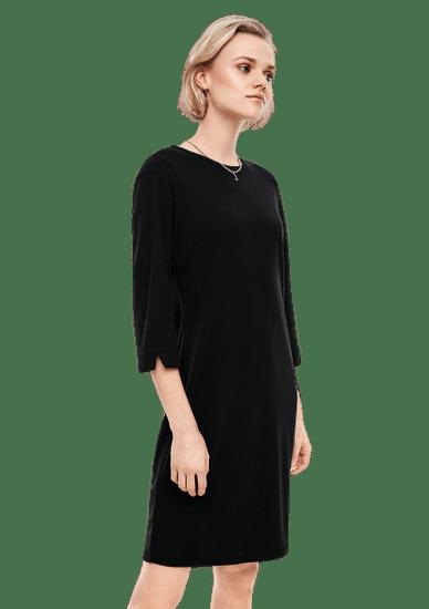Q/S designed by dámské šaty 41.002.82.2558 XL čierna