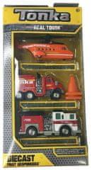 Tonka sada autíčok - hasiči