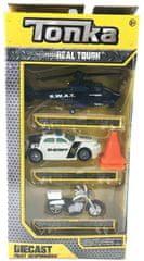 Tonka sada autíčok - polícia