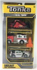 Tonka sada autíčok - záchranári