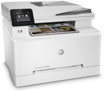 Tiskárna HP Color LaserJet Pro MFP M283fdn (7KW74A)  barevná, laserová, vhodná do kanceláří