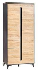 Dolmar Gappa šatní skříň GA1 horský jasan / fresco