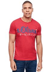s.Oliver pánske tričko 13.002.32.4610