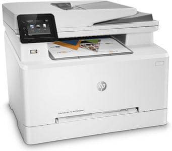 Tiskárna HP Color LaserJet Pro MFP M283fdw (7KW75A)  barevná, laserová, vhodná do kanceláří
