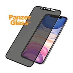 PanzerGlass Edge-to-Edge Privacy zaščitno steklo za Xr/11, črn Swarovski CamSlider (P2681)