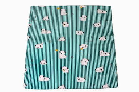 Puppolina Járóka matracok 147x147, Virágok