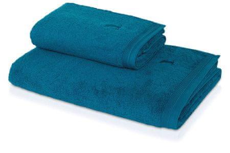 Möve Ręcznik do sauny SUPERWUSCHEL 80x200 cm niebieska laguna