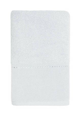 Möve Luksusowy ręcznik z linią kryształków Swarovski biały 30x50 cm