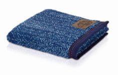 Möve Froté žínka DENIM melange 25 x 17 cm, modrá