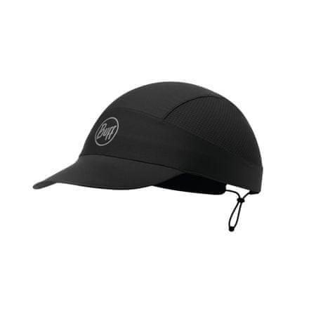 BUFF XL Pack Run R-Solid kapa sa šiltom, crna