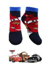 SETINO Chlapčenské členkové ponožky Autá CARS - čierna